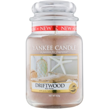 Yankee Candle Driftwood candela profumata 623 g Classic grande