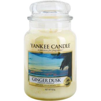Yankee Candle Ginger Dusk candela profumata 623 g Classic grande