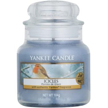 Yankee Candle Icicles candela profumata 104 g Classic piccola