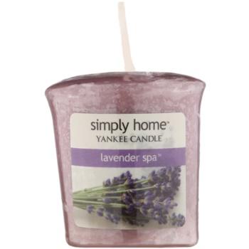 Yankee Candle Lavender Spa candela votiva 49 g