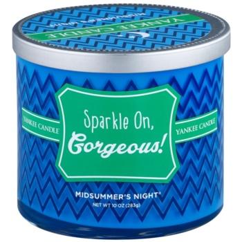Yankee Candle Midsummers Night candela profumata 283 g  (Sparkle on, Gorgeous!)
