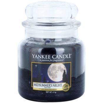 Yankee Candle Midsummers Night candela profumata 411 g Classic media