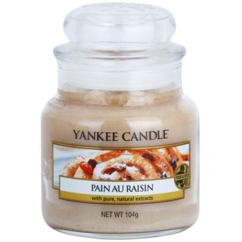Yankee Candle Pain au Raisin candela profumata 104 g Classic piccola