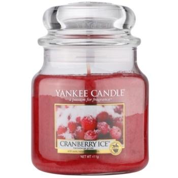Yankee Candle Cranberry Ice candela profumata 411 g Classic media