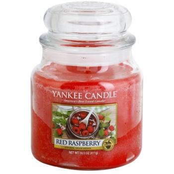 Yankee Candle Red Raspberry candela profumata 411 g Classic media