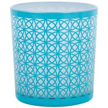 Yankee Candle Sanremo porta-candele votive in vetro    (Aqua)