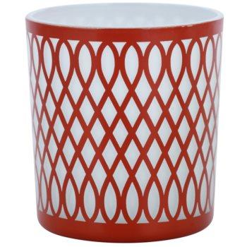 Yankee Candle Sanremo porta-candele votive in vetro    (Terracotta)