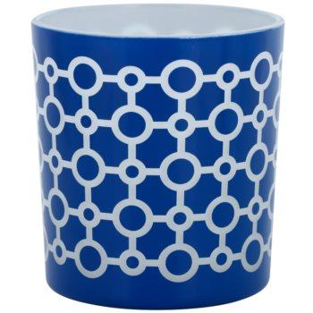 Yankee Candle Sanremo porta-candele votive in vetro    (Blue)