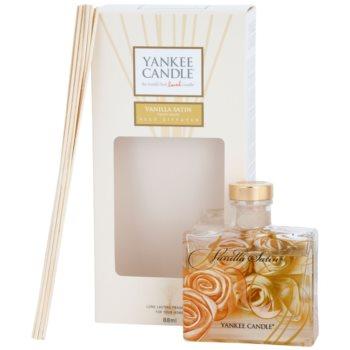 Yankee Candle Vanilla Satin diffusore di aromi con ricarica 88 ml Signature