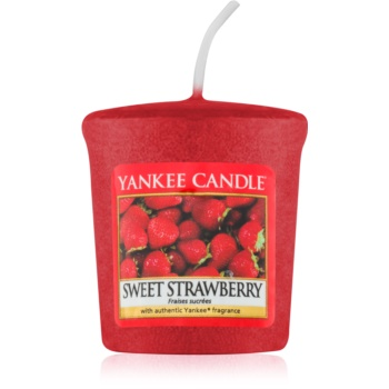 Yankee Candle Sweet Strawberry candela votiva 49 g