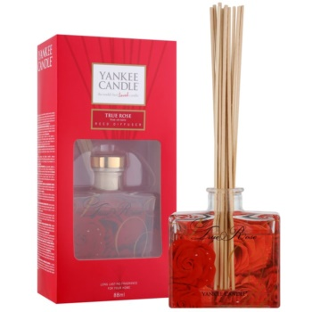 Yankee Candle True Rose diffusore di aromi con ricarica 88 ml Signature