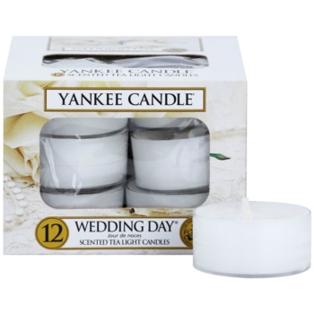 Yankee Candle Wedding Day candela scaldavivande 12 x 9,8 g