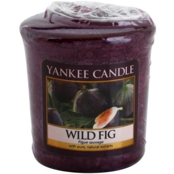 Yankee Candle Wild Fig candela votiva 49 g