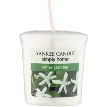 Yankee Candle White Jasmine candela votiva 49 g