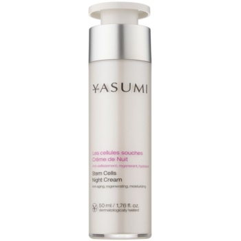 Yasumi Anti-Aging crema notte rigenerante effetto antirughe (Stem Cells Night Cream) 50 ml