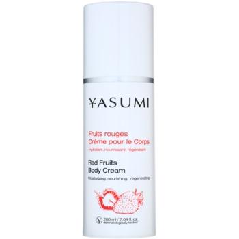 Yasumi Body Care crema idratante per tutti i tipi di pelle (Red Fruits) 200 ml