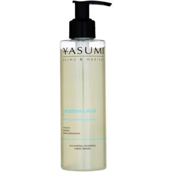 Yasumi Dermo&Medical Lactobionic Acid gel detergente per pelli sensibili con tendenza all'arrossamento 200 ml
