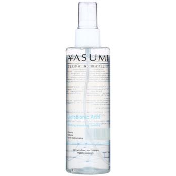 Yasumi Dermo&Medical Lactobionic Acid lozione tonica detergente per pelli sensibili con tendenza all'arrossamento 200 ml