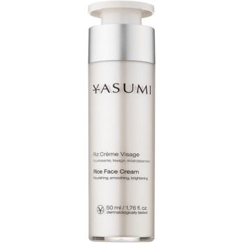 Yasumi Moisture crema nutriente rigenerante per pelli disidratate e secche (Rice Face Cream) 50 ml