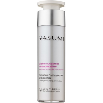 Yasumi Anti-Redness crema lenitiva per pelli sensibili con tendenza agli arrossamenti (Sensitive & Couperose Skin Cream) 50 ml