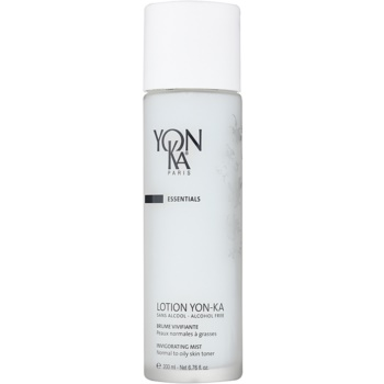 Yon-Ka Essentials spray rivitalizzante senza alcool per pelli normali e grasse 5 Essential Oils (99% Ingredients of Natural Origin) 200 ml