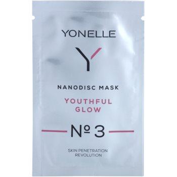 Yonelle Nanodisc Mask Youthful Glow N° 3 maschera gel intensa rinfrescante 40+ 6 ml