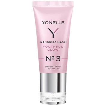 Yonelle Nanodisc Mask Youthful Glow N° 3 maschera gel intensa rinfrescante 40+ 35 ml