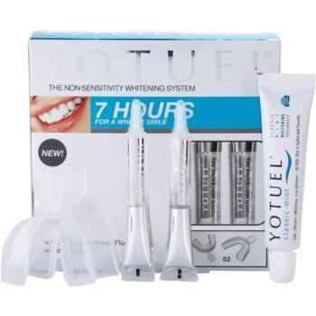 Yotuel 7 Hours trattamento sbiancante per i denti (Gum Applicators 2 pcs, Whitening Gel 2 x 6 ml, Whitening Toothpaste 1 x 25 ml)