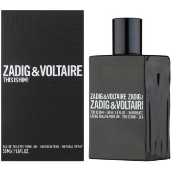 Zadig & Voltaire This Is Him! eau de toilette per uomo 50 ml