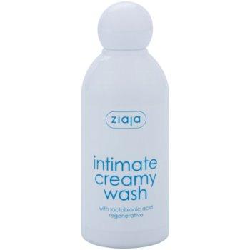 Ziaja Intimate Creamy Wash gel per l'igiene intima per pelli sensibili (With Lactobionic Acid Regenerative) 200 ml