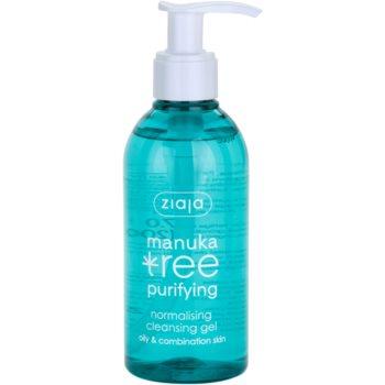Ziaja Manuka Tree Purifying gel detergente per pelli miste e grasse 200 ml