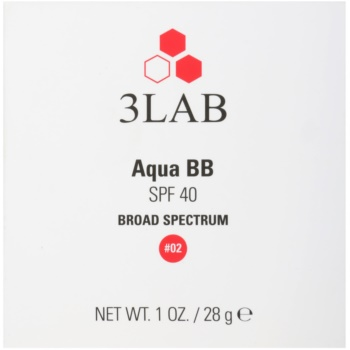 3Lab BB Cream creme BB hidratante SPF 40 + recarga 3