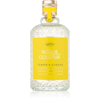 4711 Acqua Colonia Lemon & Ginger eau de cologne unisex