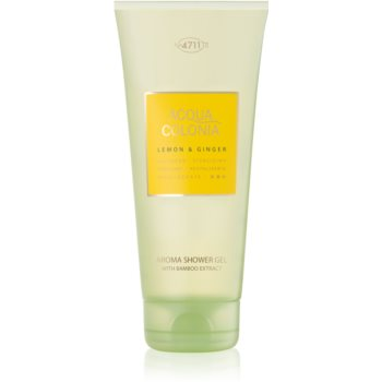 4711 Acqua Colonia Lemon & Ginger gel de dus unisex 200 ml