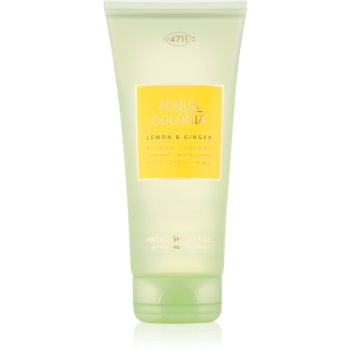 4711 Acqua Colonia Lemon & Ginger gel de dus unisex