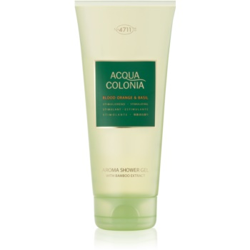 4711 Acqua Colonia Blood Orange & Basil gel de dus unisex