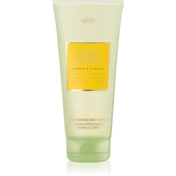 4711 Acqua Colonia Lemon & Ginger lapte de corp unisex 200 ml