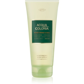 4711 Acqua Colonia Blood Orange & Basil lapte de corp unisex