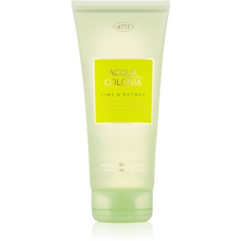 4711 Acqua Colonia Lime & Nutmeg gel de dus unisex