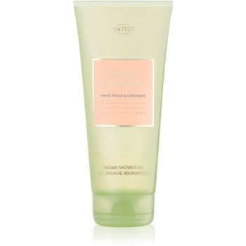 4711 Acqua Colonia White Peach & Coriander gel de dus unisex 200 ml