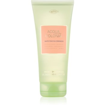 4711 Acqua Colonia White Peach & Coriander gel de dus unisex