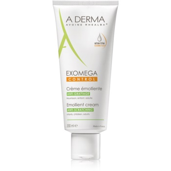 A-Derma Exomega Cremă corp cu efect de emoliere pentru piele foarte sensibila sau cu dermatita a