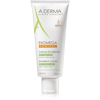A-Derma Exomega Cremă corp cu efect de emoliere pentru piele foarte sensibila sau cu dermatita atopica  200 ml