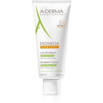 Fotografie A-Derma Exomega tělové mléko pro velmi suchou citlivou a atopickou pokožku 200 ml