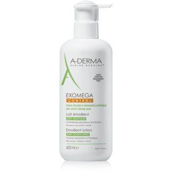 A-Derma Exomega lotiune hidratanta pentru corp pentru piele foarte sensibila sau cu dermatita at