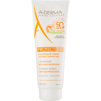 A-Derma Protect Kids Ptrotectie solara pentru copii SPF 50+  250 ml