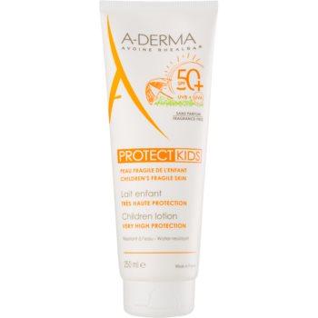 A-Derma Protect Kids Ptrotectie solara pentru copii SPF 50+ imagine produs