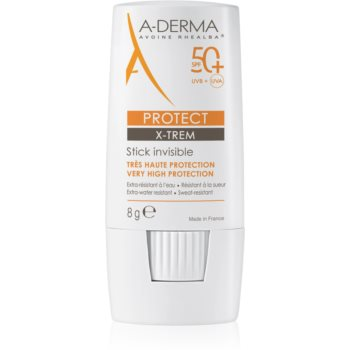 A-Derma Protect X-Trem adera pe zonele sensibile SPF 50+ imagine produs