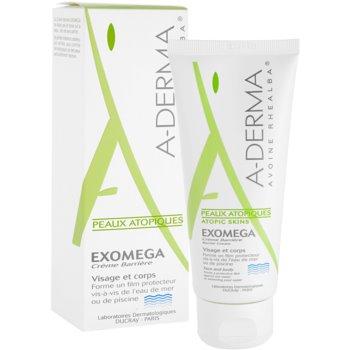 A-Derma Exomega creme de proteção para pele sensível e atópica 1