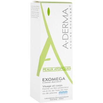 A-Derma Exomega creme de proteção para pele sensível e atópica 2
